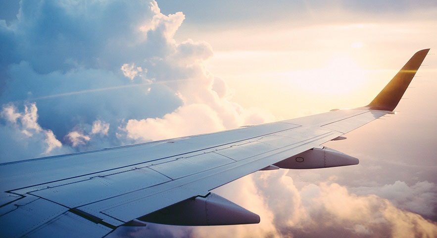 Korting op vliegtickets