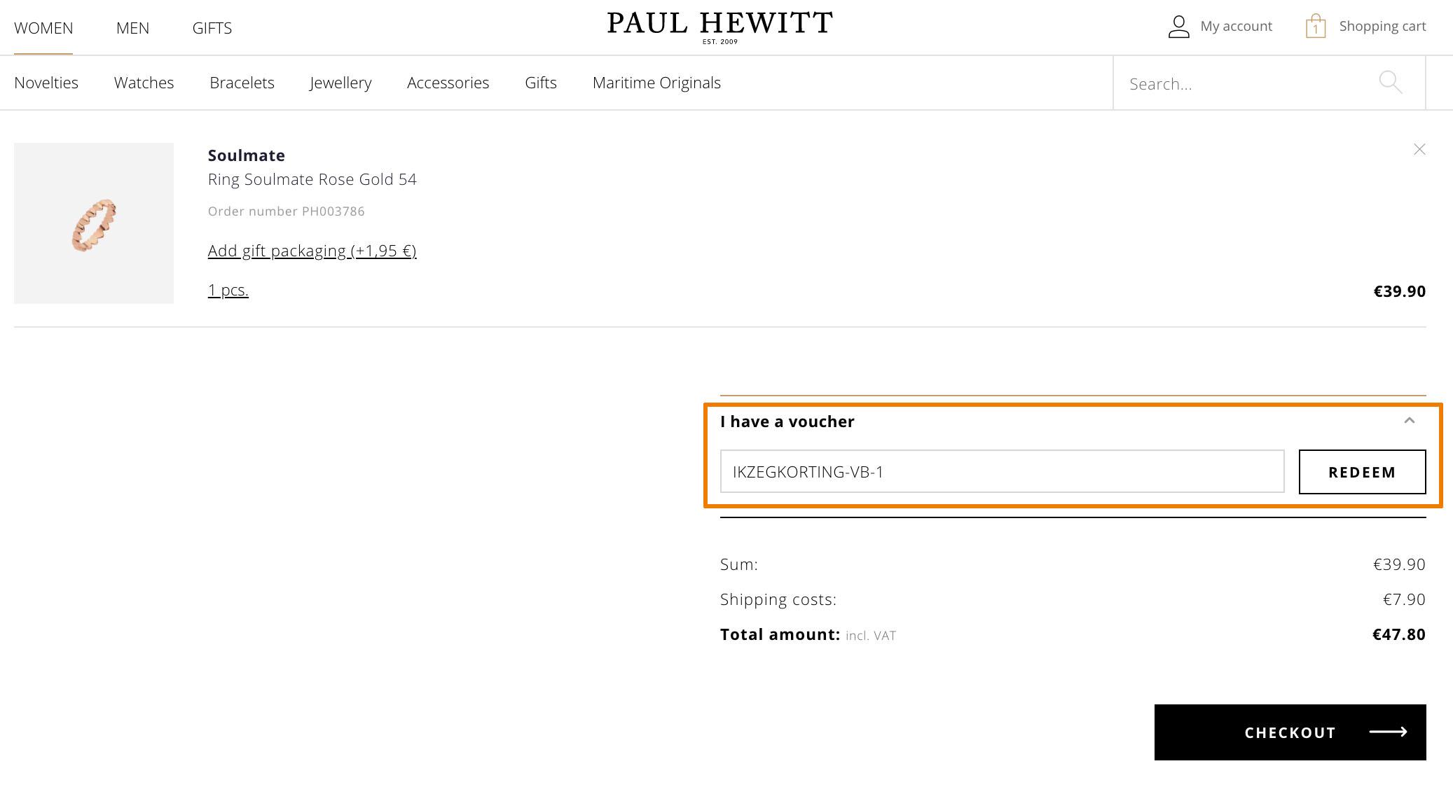 Hoe gebruik je een Paul Hewitt aanbieding