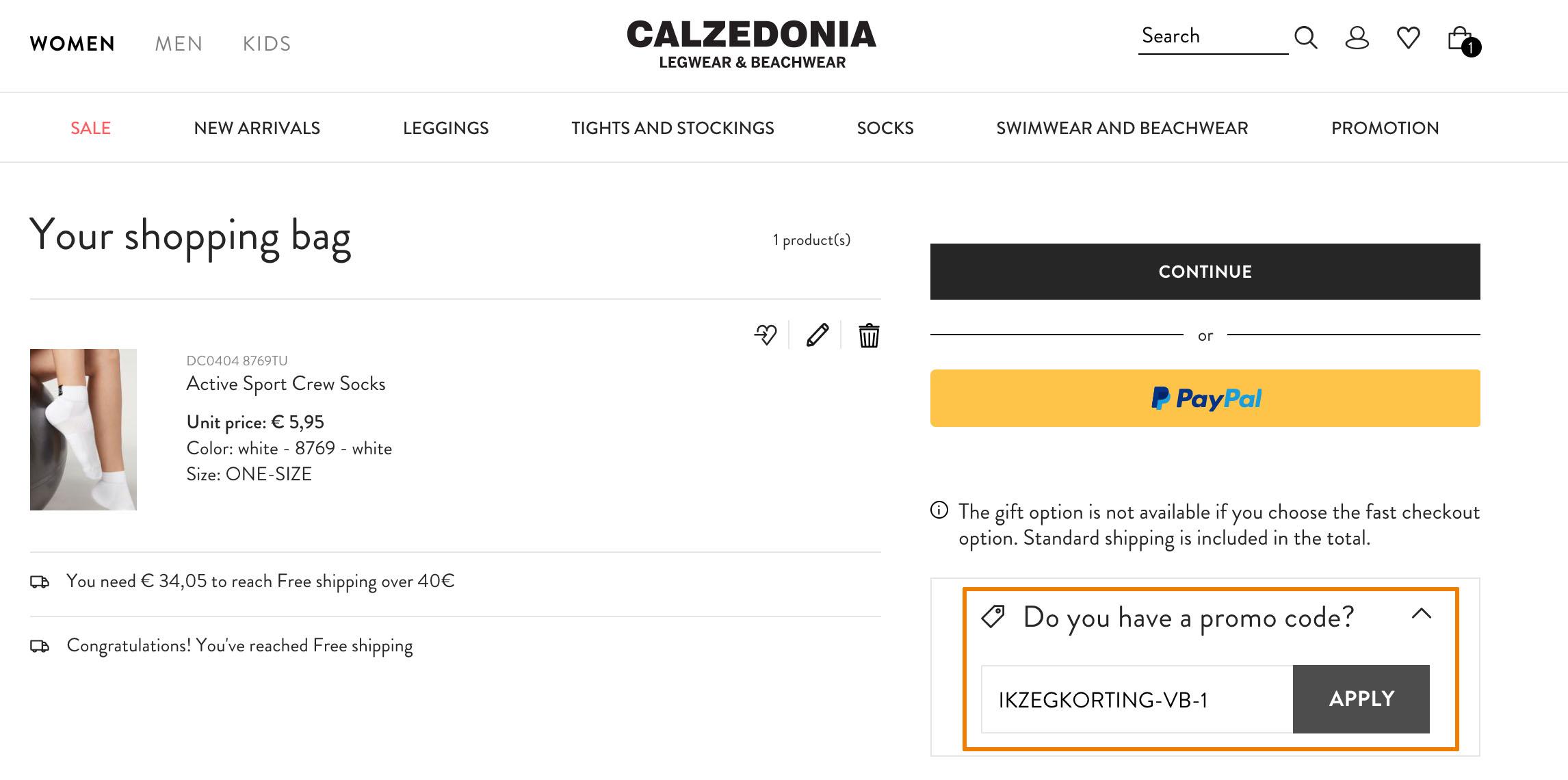 Hoe gebruik je een Calzedonia aanbieding