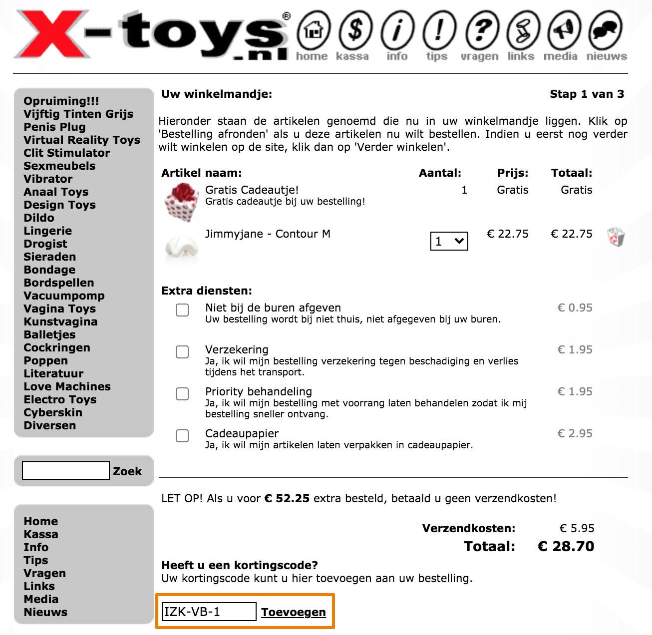Hoe gebruik je een X-Toys aanbieding