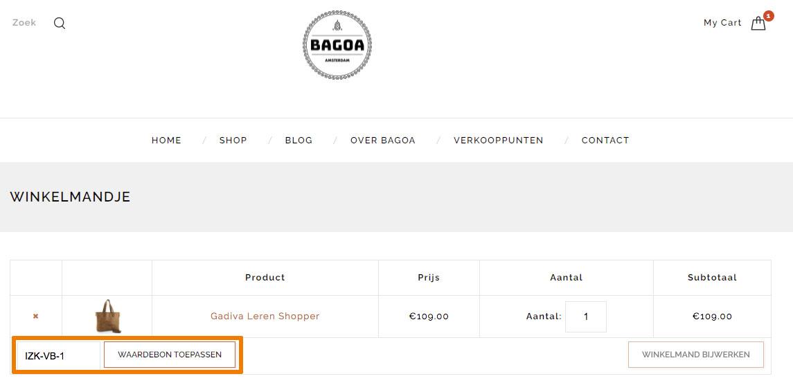Hoe gebruik je een BAGOA aanbieding