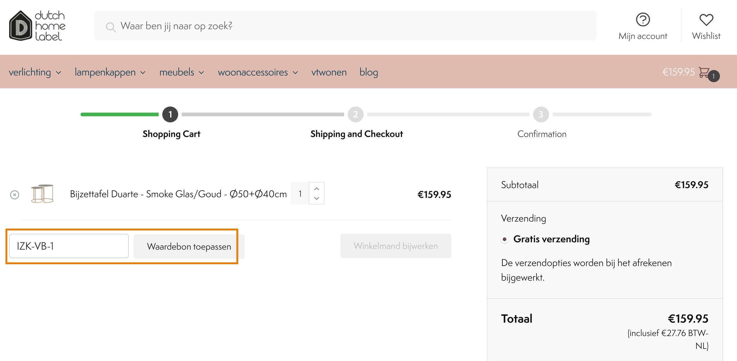Hoe gebruik je een Dutch Home Label aanbieding