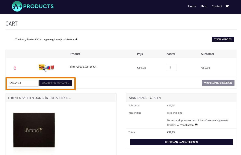 Hoe gebruik je een Aplus Products aanbieding