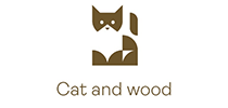 Logo Cat and Wood