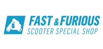 Logo Fast en Furious Scooters